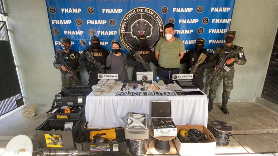 Honduras' FNAMP Captures More Than 1,000 Gang Members in 2 Years