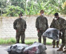 Companhia de Apoio do Quartel General da Força-Tarefa Conjunta Bravo presta assistência humanitária