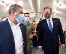 Embaixada dos Estados Unidos doa ao Panamá três hospitais de campanha para combater a COVID-19
