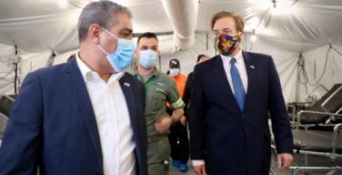 US Embassy Donates 3 Field Hospitals to Panama to Combat COVID-19