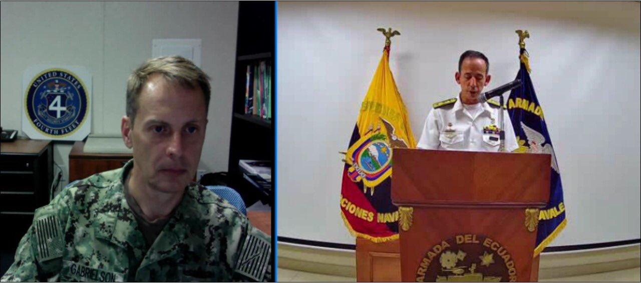 US 4th Fleet and Ecuador Navy Prepare for UNITAS 2020