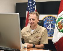 4th Fleet Commander Hosts Maritime Staff Talks with Peruvian Navy