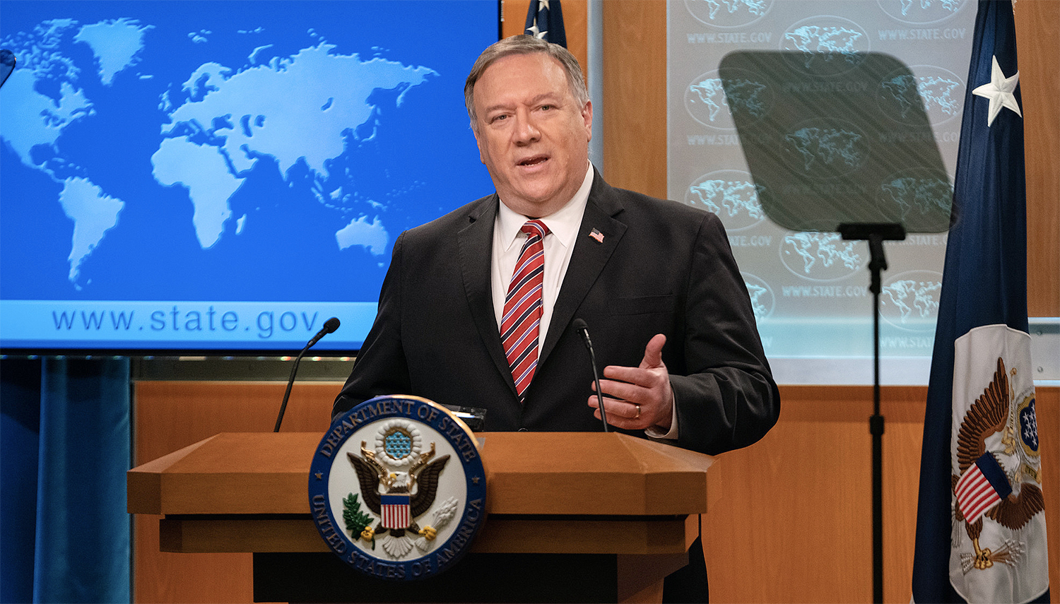 Pompeo Condemns Maduro Government's 'Safe Haven, Aid, and Comfort' to Terrorist Groups