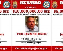 US Offers Millions in Rewards for 3 Ex-Venezuelan officials