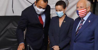 Inauguran hospital de campaña para casos de COVID-19 en el Hospital Nacional del Tórax de Jamaica