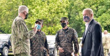 SOUTHCOM Commander Meets with El Salvador Defense Minister to Discuss Security Cooperation