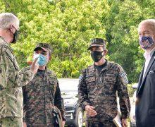 Comandante de SOUTHCOM se reúne con ministro de Defensa de El Salvador para hablar sobre cooperación en materia de seguridad