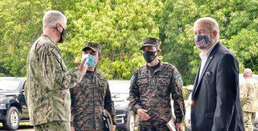 Comandante do SOUTHCOM se reúne com ministro da Defesa de El Salvador para discutir a cooperação de segurança