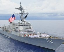 USS William P. Lawrence Freedom of Navigation Operation Challenges Venezuela's Excessive Maritime Claim