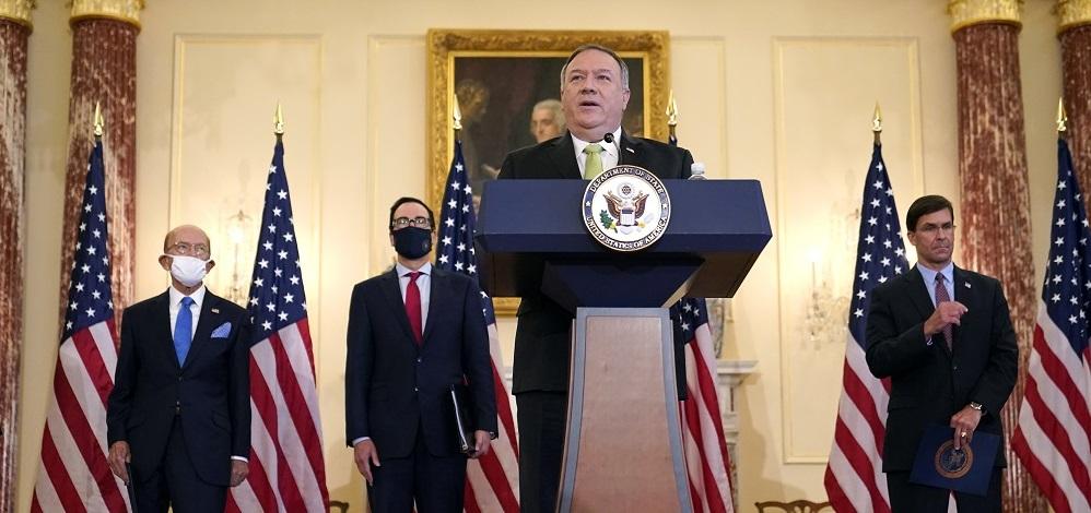 EUA sancionam Irã e Maduro da Venezuela em meio ao aumento da cooperação