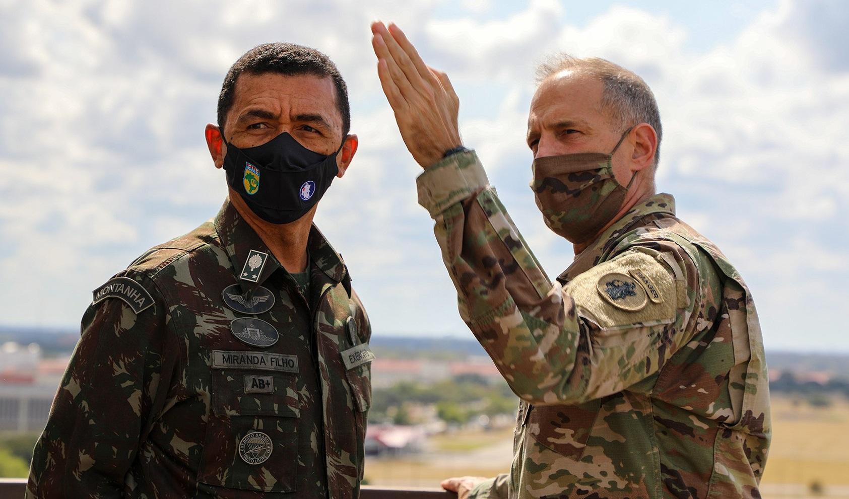 Estados Unidos e Brasil iniciam a 36ª edição dos Diálogos Anuais de Estado-Maior entre seus exércitos