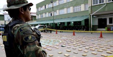 Bolivia decomisa casi 453 toneladas de drogas en los últimos 11 meses