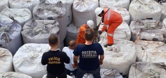 Brazil: Agents Seize Over 2 Tons of Cocaine Bound for Europe