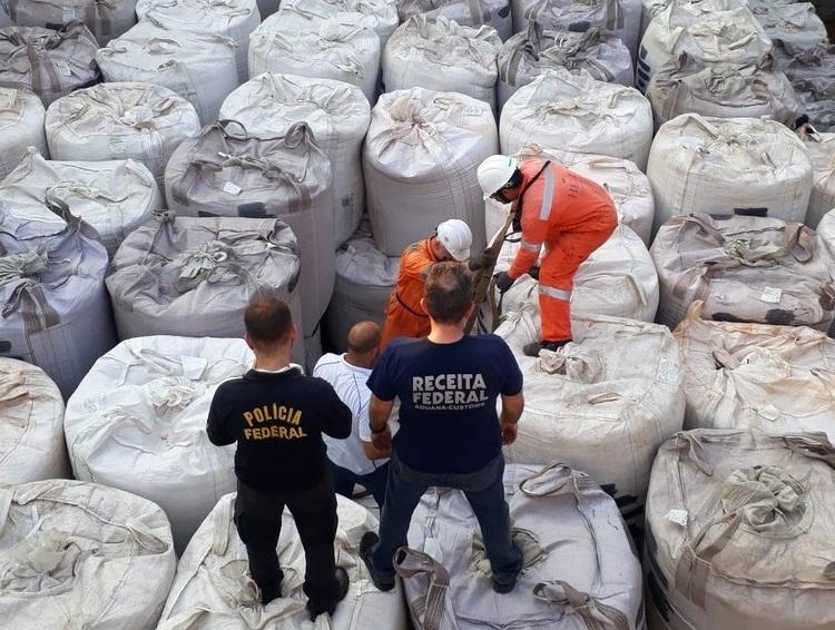 Brasil: agentes incautan más de 2 toneladas de cocaína con destino a Europa