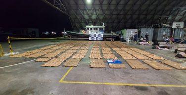 Armada de Colombia incauta más de 2,6 toneladas de drogas