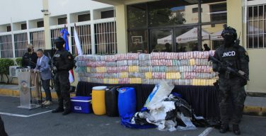 Dominican Republic Seizes 1.7 Tons of Cocaine