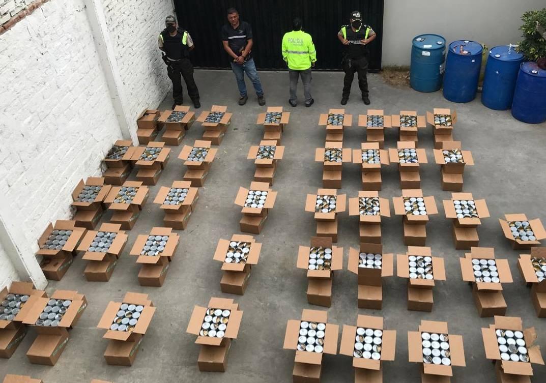 Ecuadorean Police Seizes 1.5 Tons of Cocaine Hidden in Tuna Cans