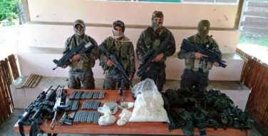 Peruvian Armed Forces Report Operations Against Organized Crime