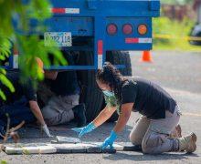 El Salvador apreende 1,2 tonelada de cocaína em um dia