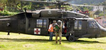 Estados Unidos ajudam a Guatemala durante a tempestade Eta