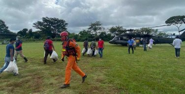 JTF-Bravo Brings 10,900 kg of Food and Carries Out 15 Rescues in Panama