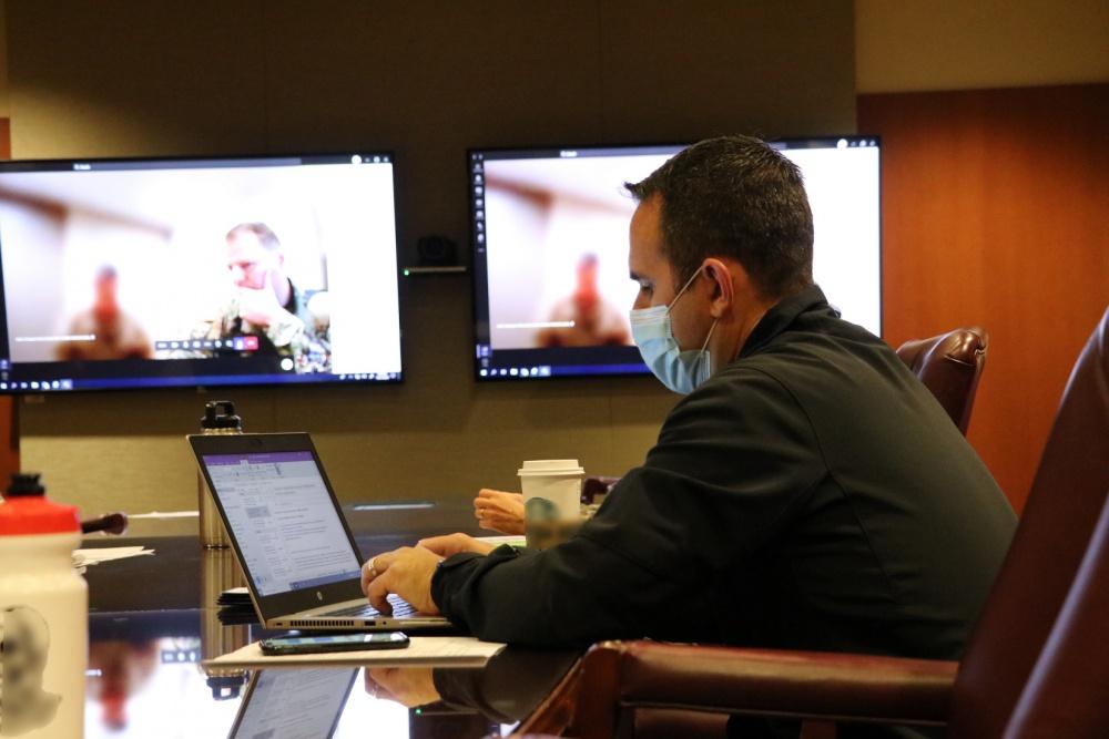 Ejército Sur coordina intercambio de lecciones aprendidas sobre COVID-19 con el Centro Médico Brooke del Ejército de los EE. UU. y el Ejército Argentino