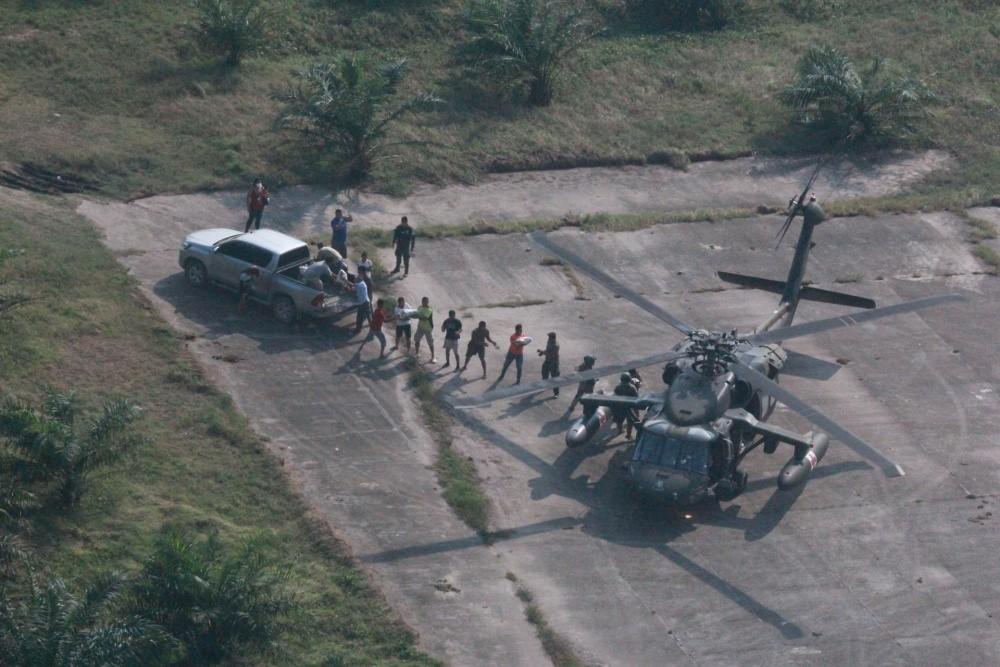 USS William P. Lawrence se une a los esfuerzos de ayuda por el huracán Eta en Honduras