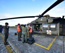 Estados Unidos proporciona asistencia aérea inmediata para apoyar comunidades y salvar vidas tras depresión tropical Eta