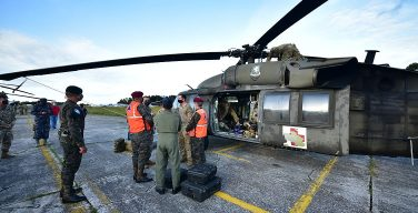 The United States Provides Immediate Aerial Assistance to Support Communities and Save Lives in the wake of Tropical Depression Eta