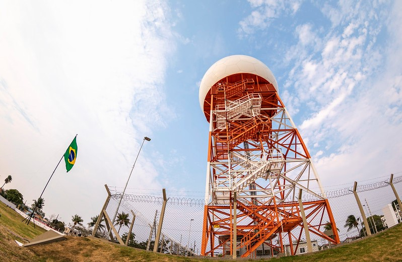 Brazilian Air Force Installs Radar Station to Strengthen Border Monitoring