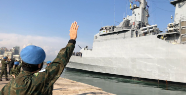 Frigate Independência Returns to Brazil After Concluding its Mission in Lebanon