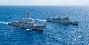 Brazilian Navy Conducts PASSEX Exercise and Other Activities with the US Navy