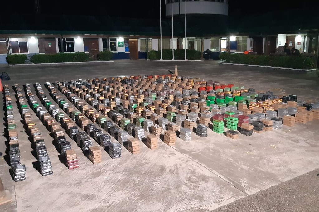 Colombia Seized More than 4 Tons of Cocaine and Destroyed 63 Labs