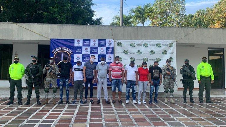 Mafia Hideout with $2.3 Million in Cash Found in Colombia