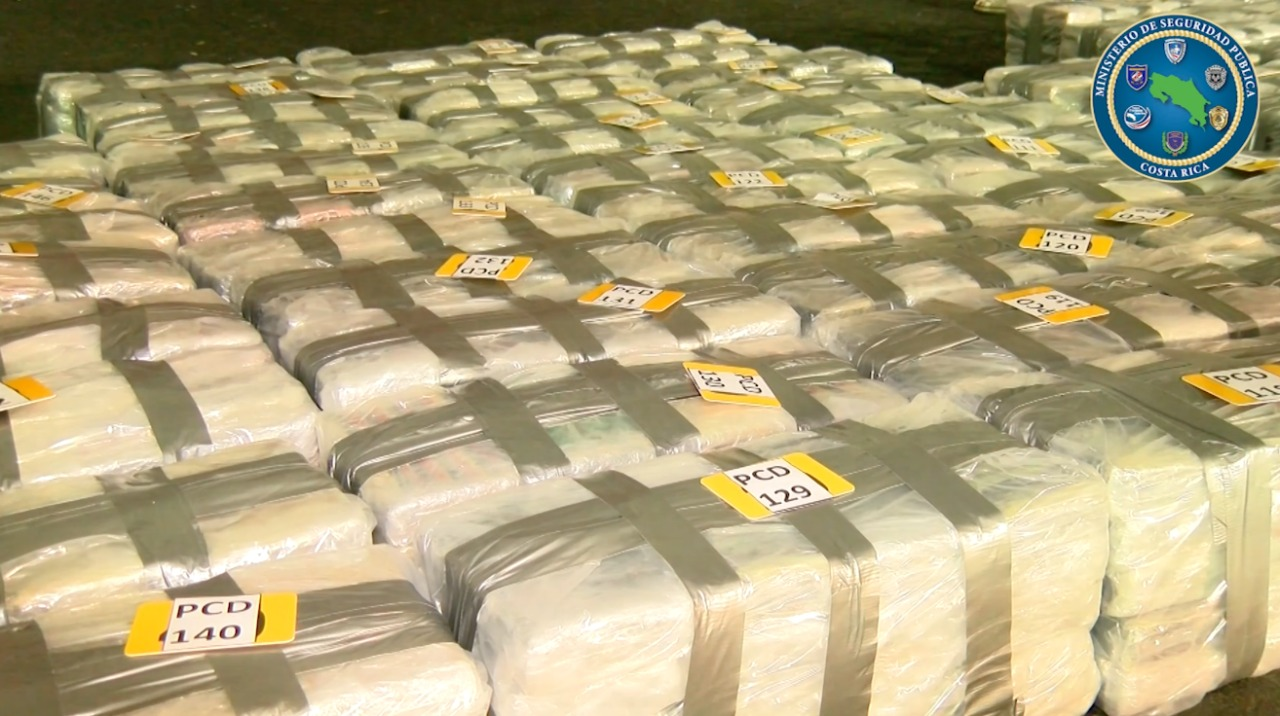 Costa Rica Seizes 2.9 Tons of Cocaine in Plantain Container