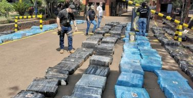 Paraguay's SENAD Seizes More than 10 Tons of Marijuana Bound for Argentina