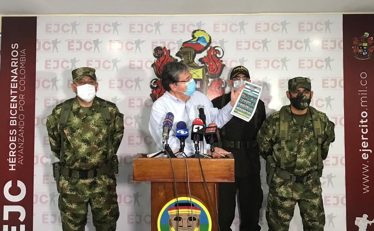 Colombian Forces Neutralize Alias Caín