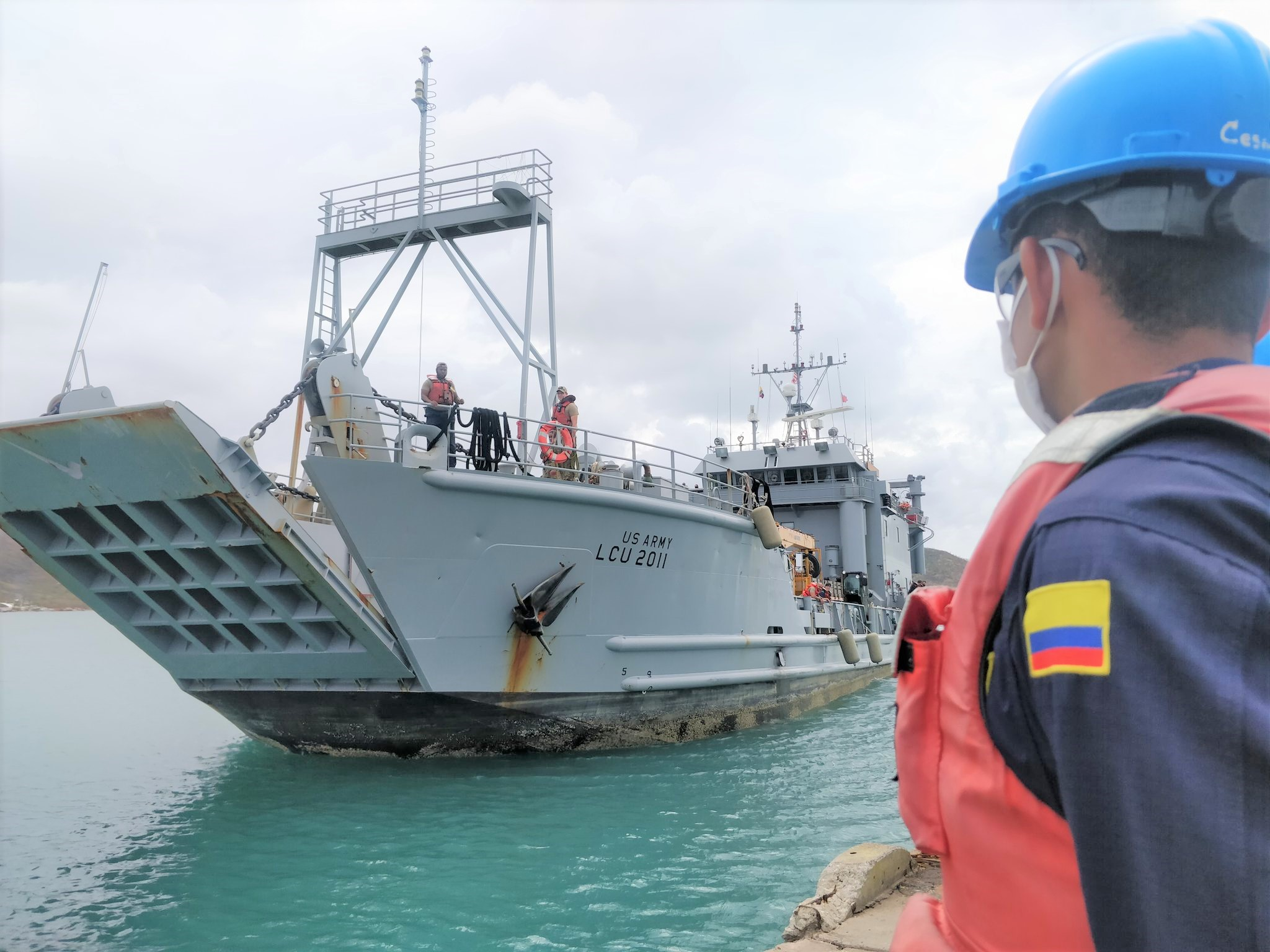 US Army Supports Reconstruction of Colombian Islands after Hurricane Iota