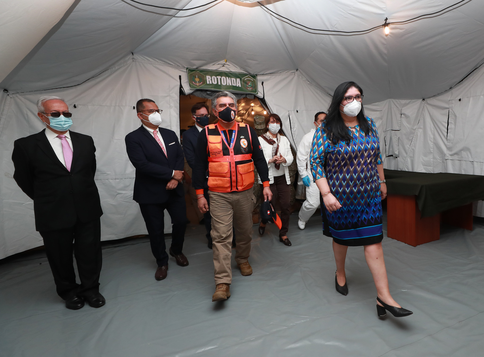 US Donates 2 Emergency Hospitals to Peru