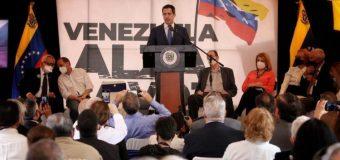 El presidente interino Guaidó pide un referéndum para rechazar en diciembre las fraudulentas elecciones del régimen