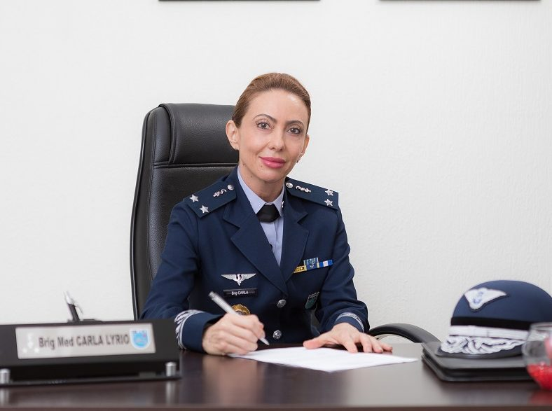 Brazilian Air Force Promotes First Woman to General Officer Rank