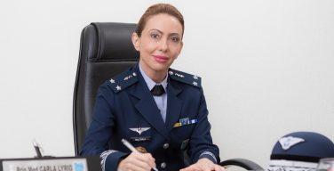 Fuerza Aérea Brasileña asciende a primera mujer general