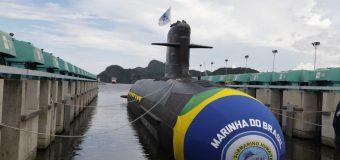 Brazilian Navy Launches New Submarine at Sea