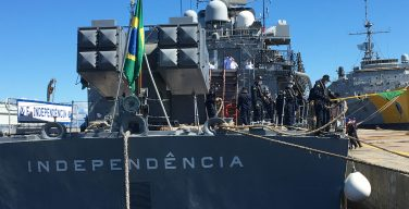 Last Brazilian Frigate Returns Home Following a 9 Year Peacekeeping Mission in Lebanon