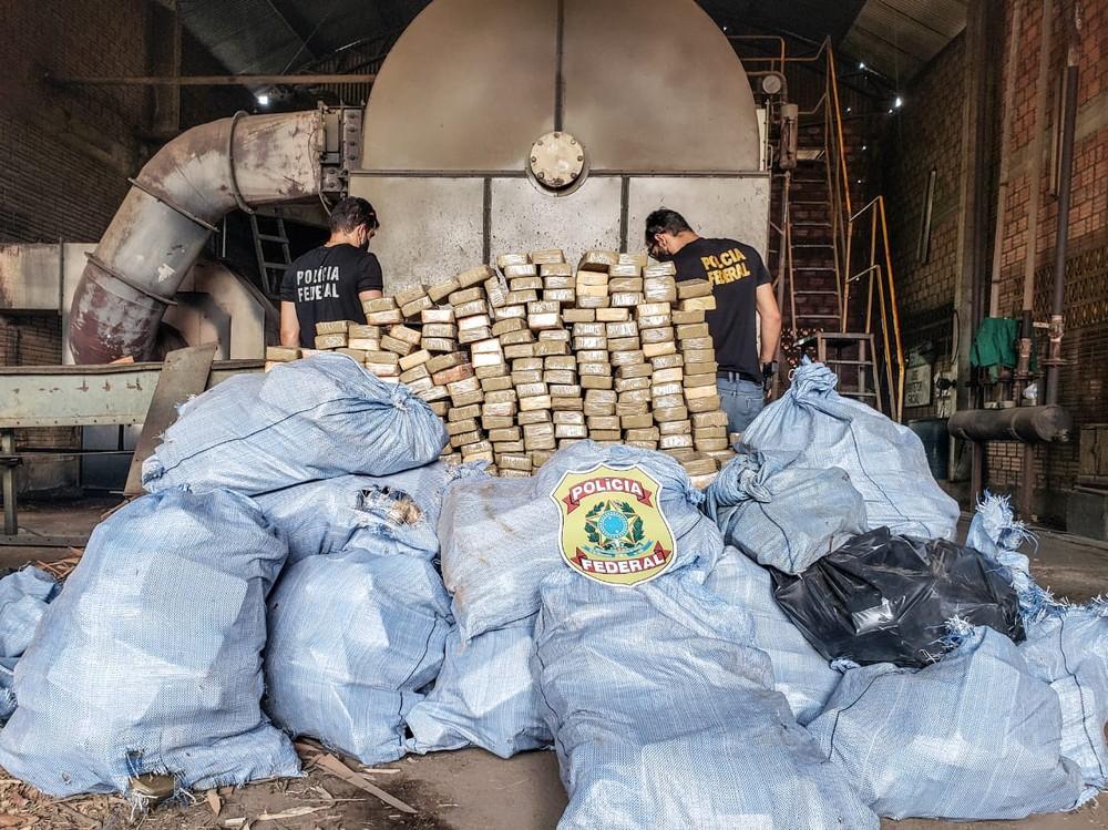 Brasil: Fuerzas de seguridad incautan 1 tonelada de cocaína en la frontera con Bolivia