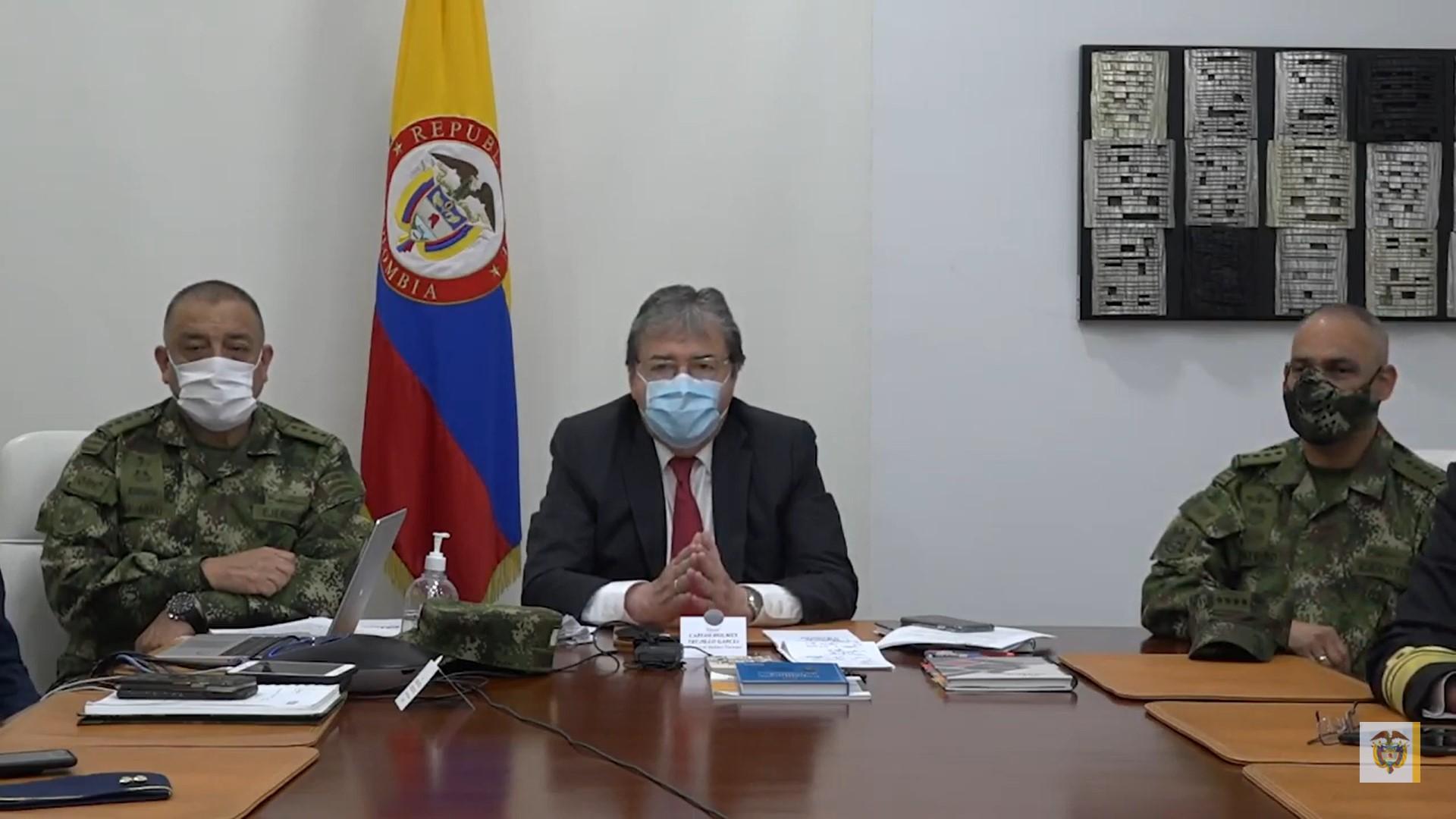 Três líderes criminosos neutralizados na Colômbia