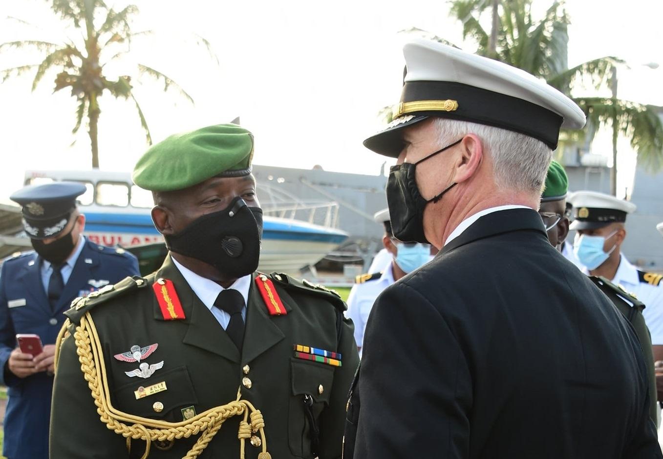Guyana y los EE. UU. firman acuerdo de cooperación