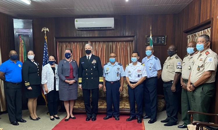 US Deepens Military Ties with Suriname Through High-level Visit