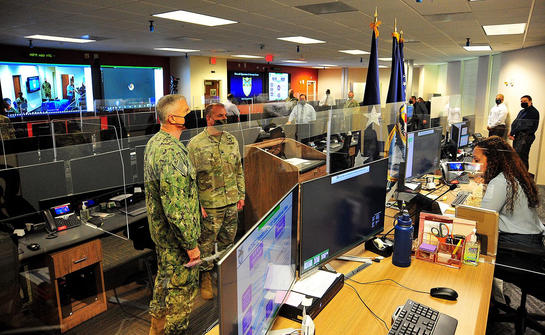 Comando Sur de los EE. UU. inaugura nuevo Centro de Seguridad y Operaciones en la Red