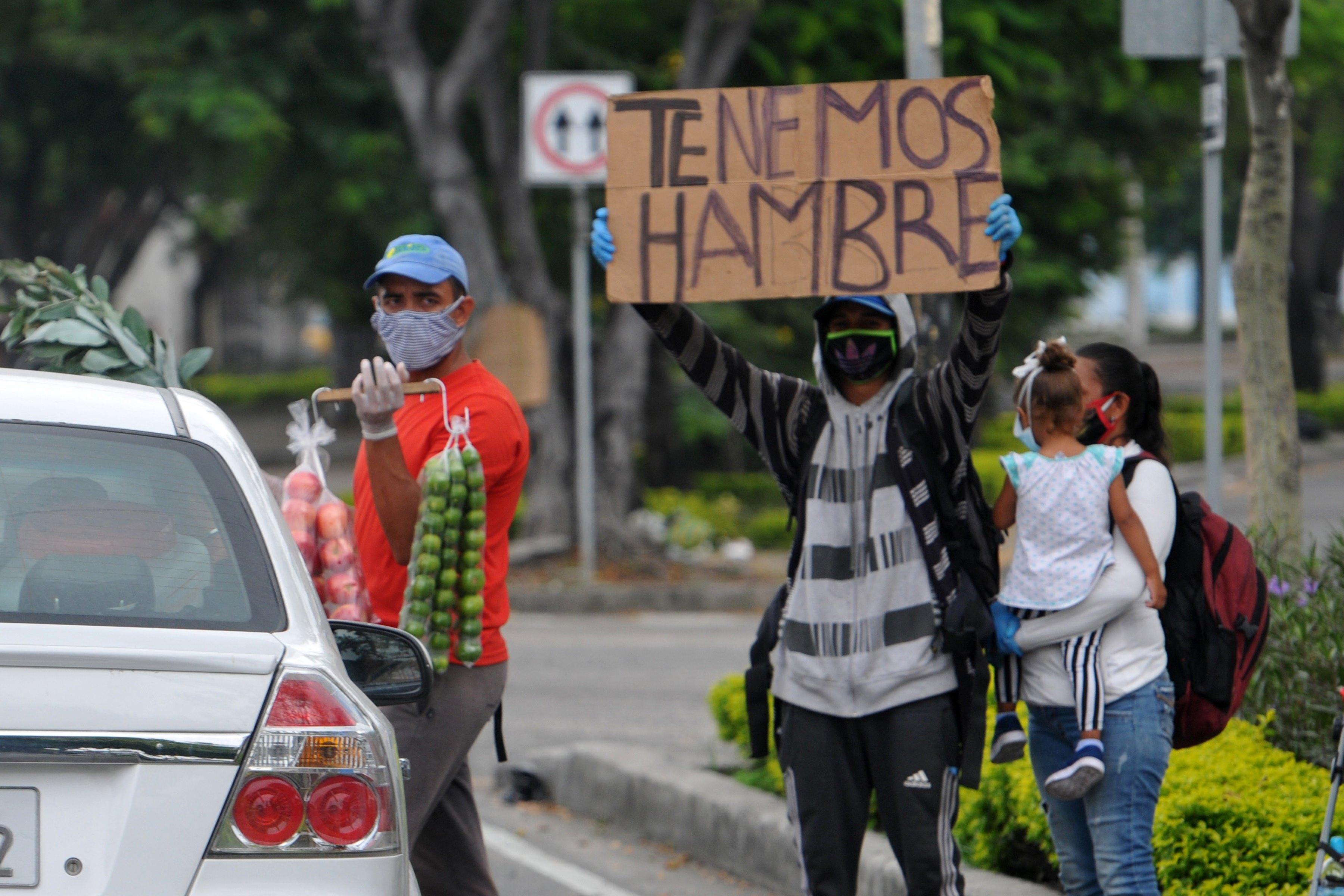 Venezuela está entre os 20 países do mundo com maior risco de agravamento da fome entre sua população